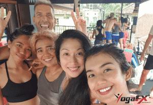 YogaFX International Yoga Teacher Training Academy Bali RYS 200 Hours Yoga Alliance Approved