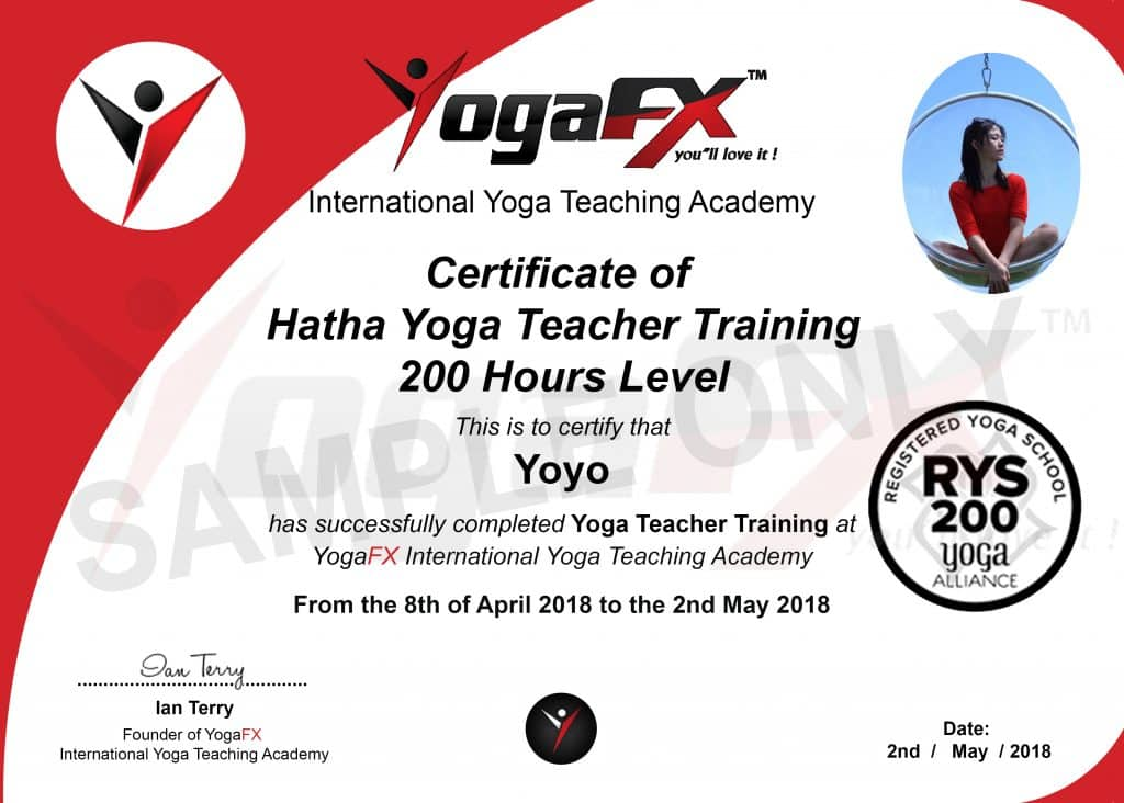 Learning Experience Certificate