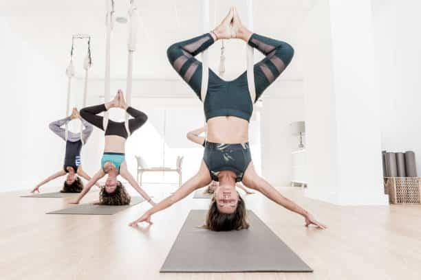 Yogafx Ryt 200 Hours Yoga Alliance Teacher Training bali aerial yoga class