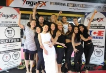 YogaFX International Yoga Teacher Training Bali RYT 200