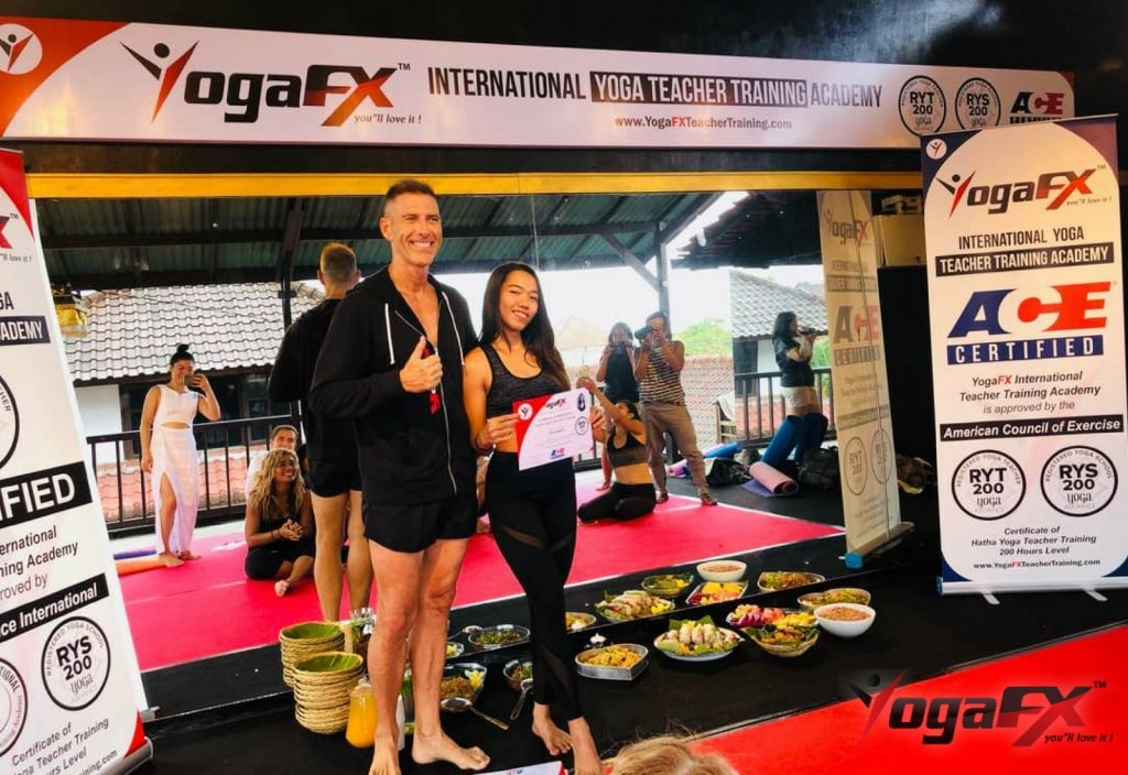 YogaFX International Yoga Teacher Training Bali Seminyak