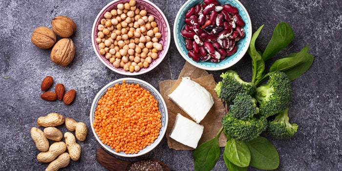 healthy food for vegetarian