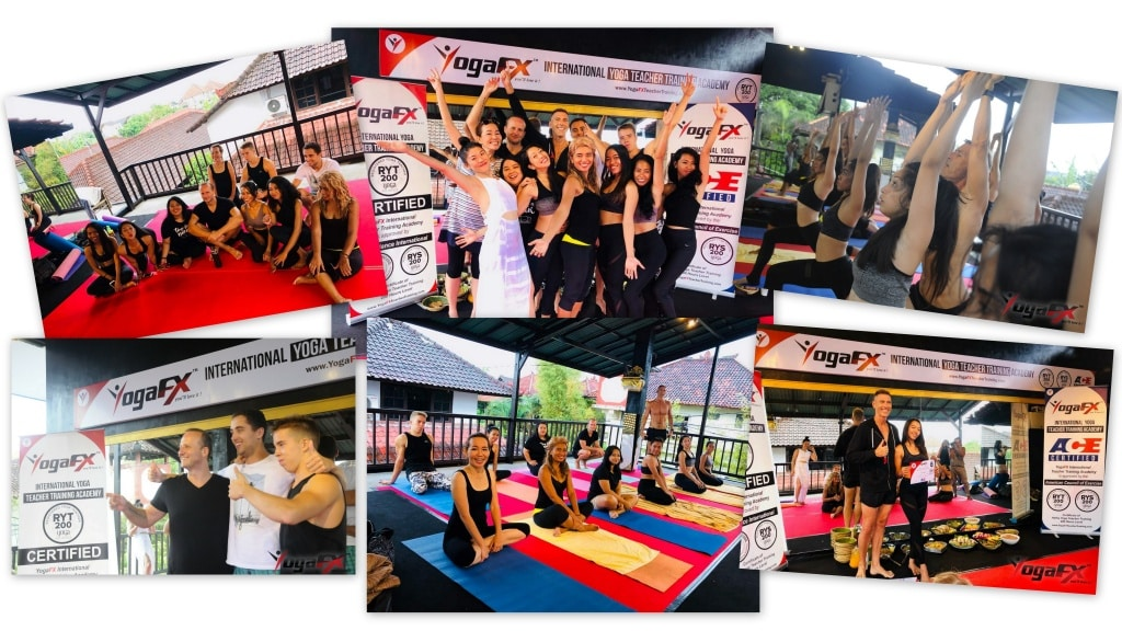 YogaFX International Yoga Teacher Training RYS 200 Bali