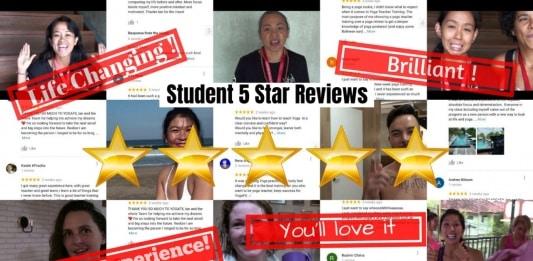 YogaFX Student 5 Star Reviews (1)