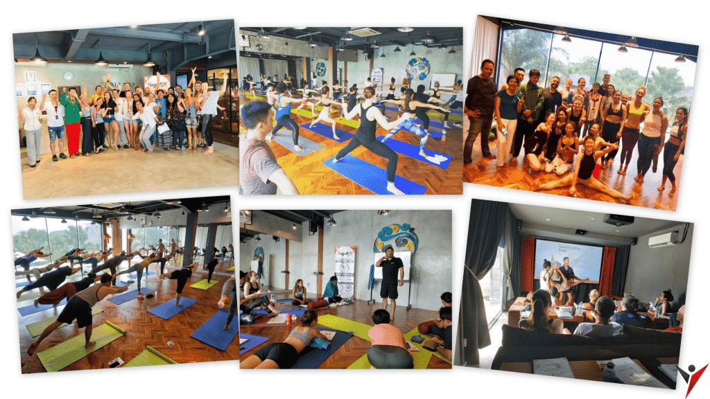 yogafx teaching class