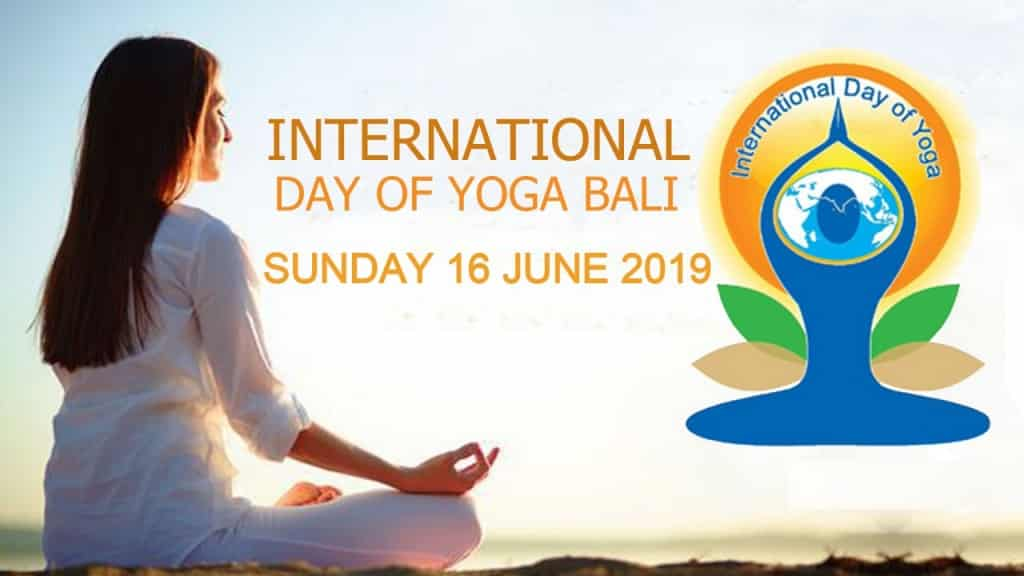 International Day of Yoga Bali 2019