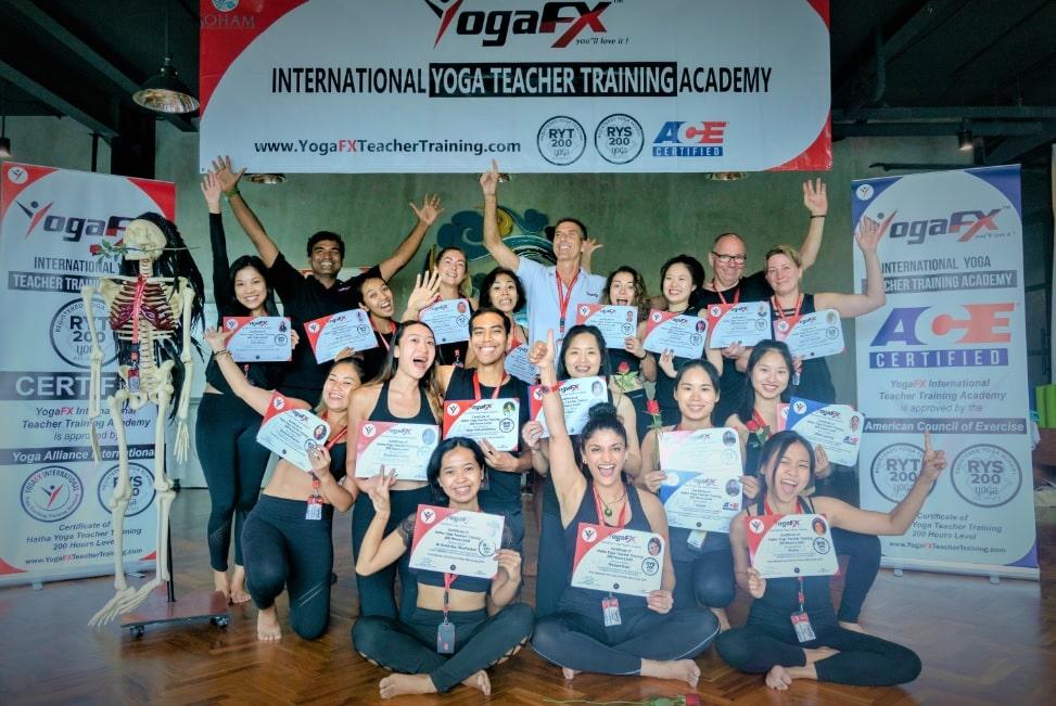 YogaFX Graduation Day